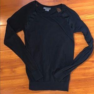 VINCE wool silk long sleeve